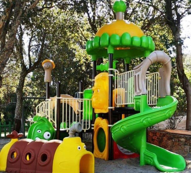 Location Mobil-Homes Camping Porto-Vecchio Palombaggia jeux enfant