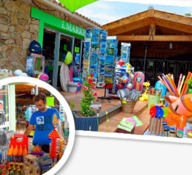 Location Mobil-Homes Camping Porto-Vecchio Palombaggia jeux de plage