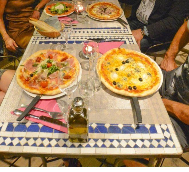 Location Mobil-Homes Camping Porto-Vecchio Palombaggia pizza