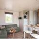 location porto vecchio 6 personnes camping mobil-home canapé
