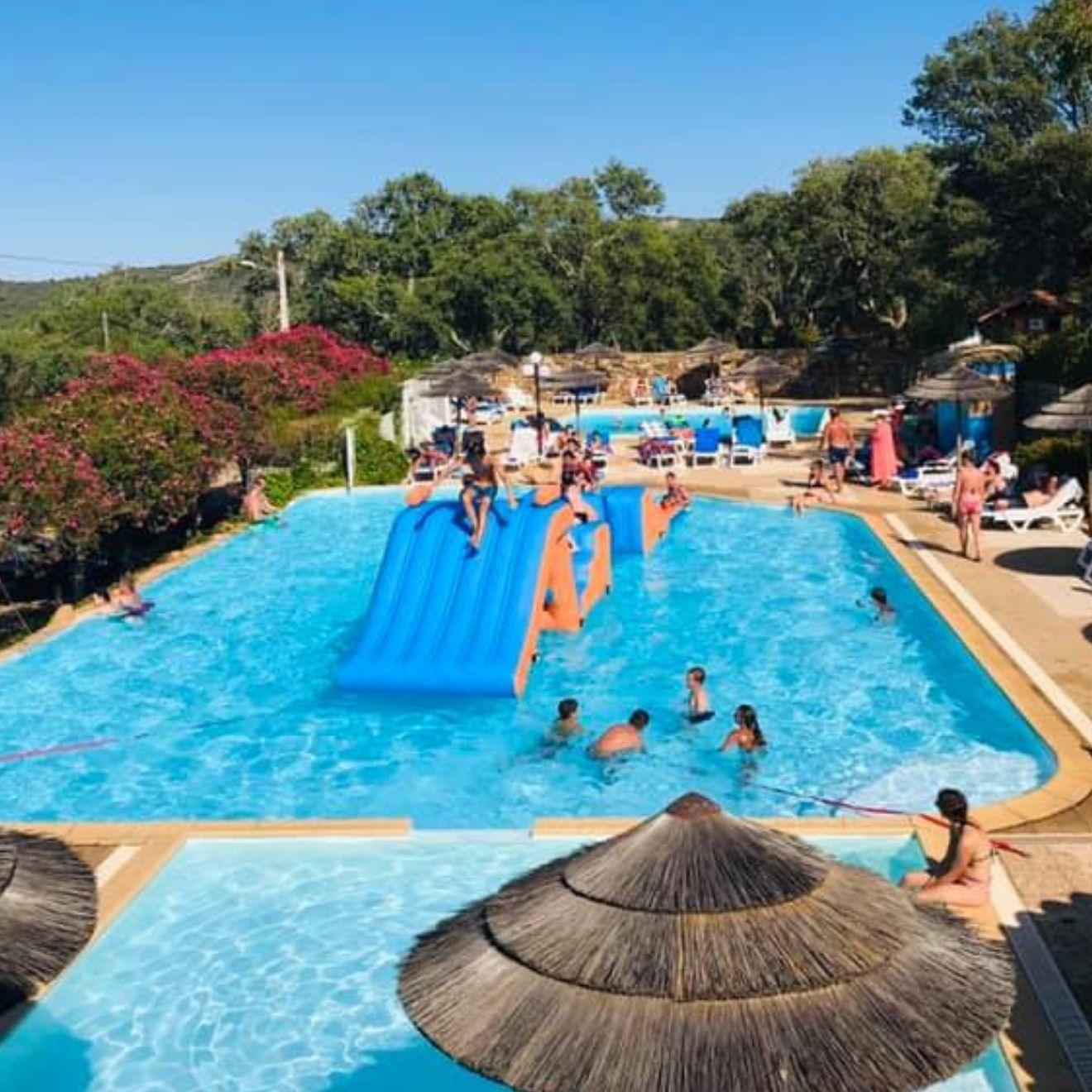 Espace Piscines Chauffées Camping Porto-Vecchio Palombaggia 3 piscine