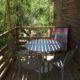 location porto vecchio camping chalet terrasse